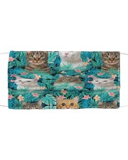 Cat Tropical H31748 Cloth face mask front