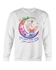 Butterfly Be Like The Moon T5TE Crewneck Sweatshirt thumbnail