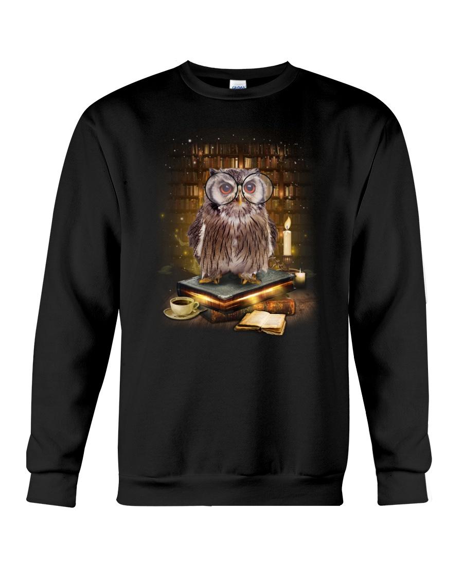 Owl Book Crewneck Sweatshirt