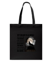 My Heart Is Wolf Tote Bag thumbnail