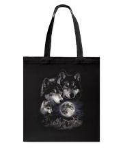 Strong Wolf Tote Bag thumbnail
