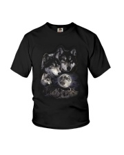 Strong Wolf Youth T-Shirt thumbnail
