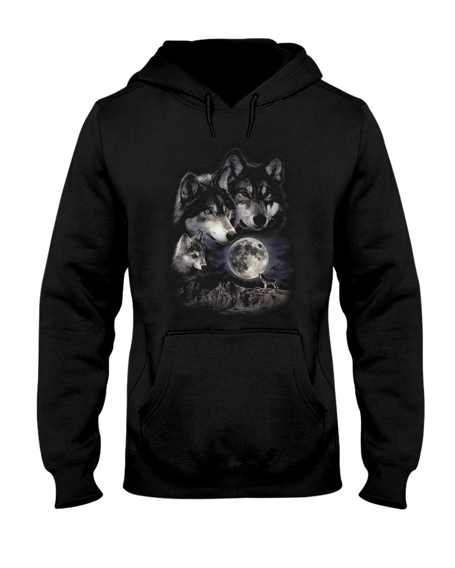 Strong Wolf Hooded Sweatshirt