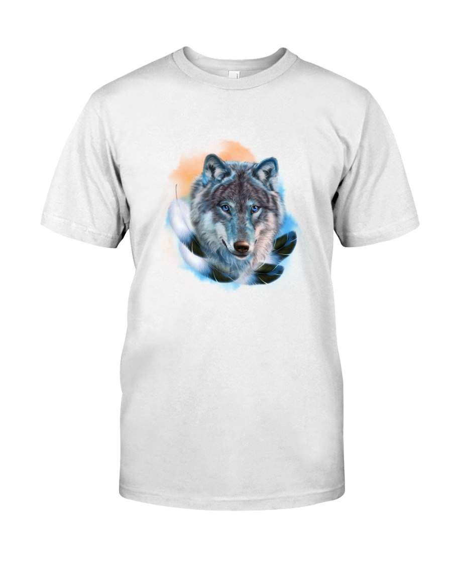 Wolf Feather  Classic T-Shirt
