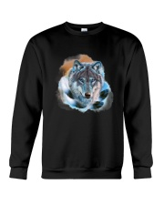Wolf Feather  Crewneck Sweatshirt thumbnail