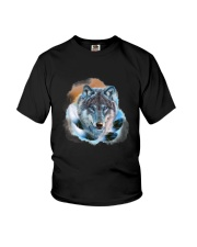 Wolf Feather  Youth T-Shirt thumbnail