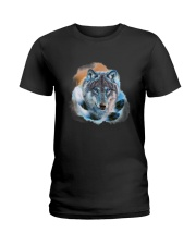 Wolf Feather  Ladies T-Shirt thumbnail