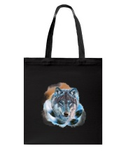 Wolf Feather  Tote Bag thumbnail