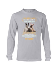 NYX - My Baby French Bulldog - 1104 Long Sleeve Tee thumbnail