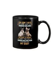 NYX - My Baby French Bulldog - 1104 Mug thumbnail