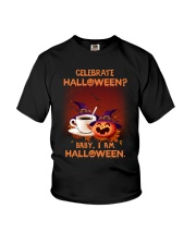 Halloween - Celebrate coffee Youth T-Shirt thumbnail