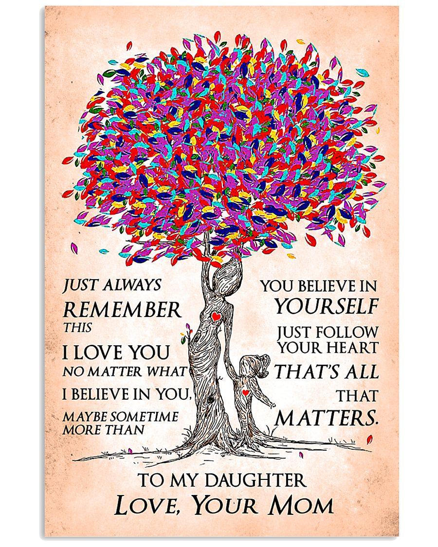 Family Always Remember 11x17 Poster