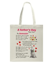 Komondor Poem Tote Bag thumbnail