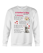 Komondor Poem Crewneck Sweatshirt thumbnail