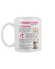 Komondor Poem Mug back