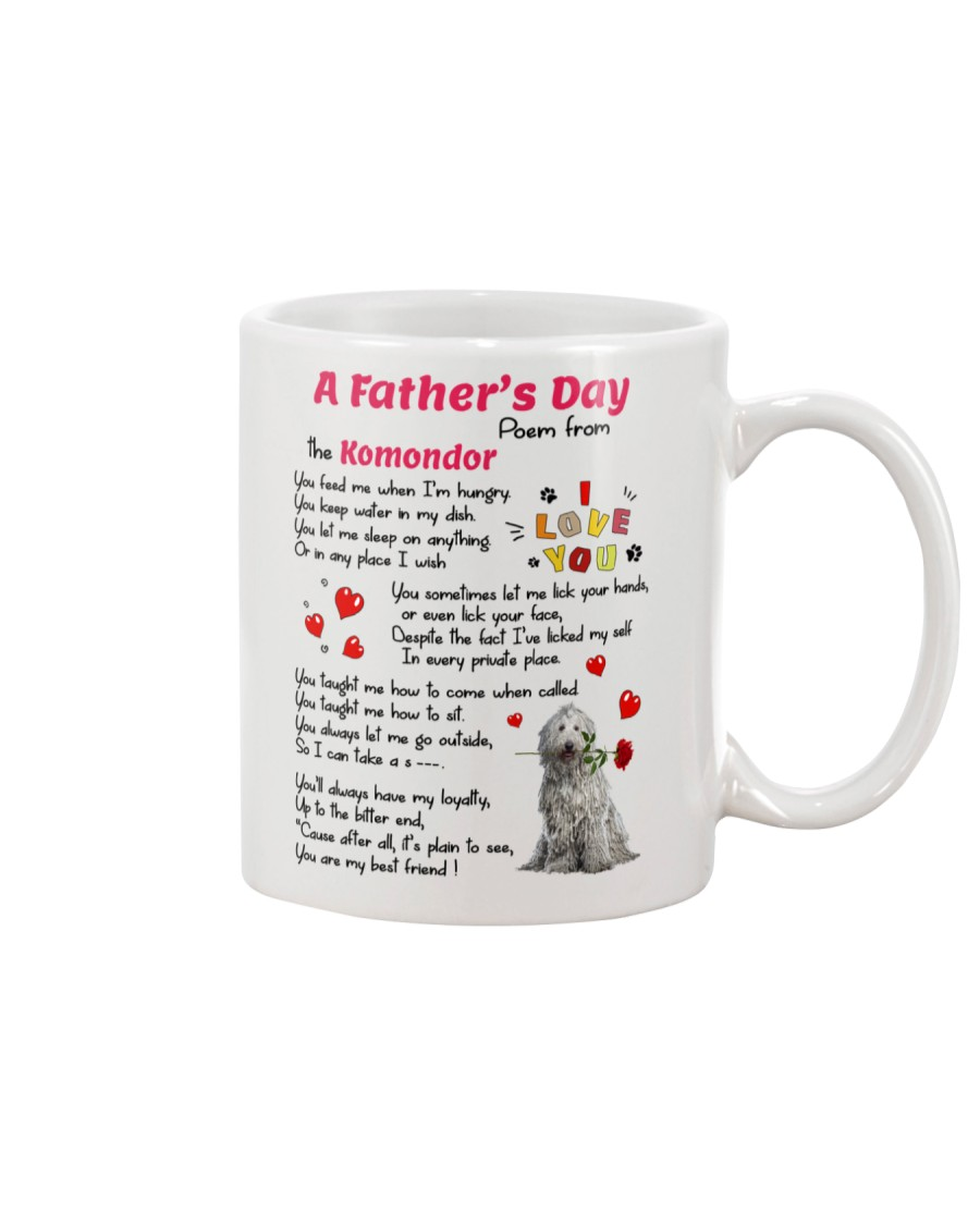 Komondor Poem Mug