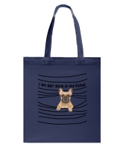French Bulldog In The Blinds  Tote Bag thumbnail
