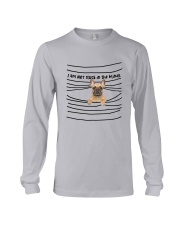 French Bulldog In The Blinds  Long Sleeve Tee thumbnail