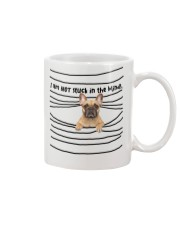 French Bulldog In The Blinds  Mug front