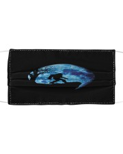 Bigfoot and Blue Moon H28843 Cloth face mask front