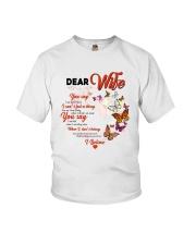 Family Husband Say  Youth T-Shirt thumbnail