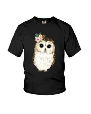 Owl Flower Youth T-Shirt thumbnail