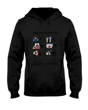 Book - Reading Spare Time Hooded Sweatshirt thumbnail