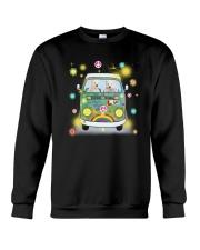 Polar Bear Peace Crewneck Sweatshirt thumbnail