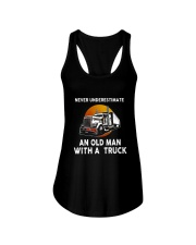 Truck Never Underestimate T5TSE Ladies Flowy Tank tile