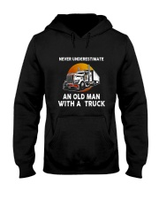 Truck Never Underestimate T5TSE Hooded Sweatshirt thumbnail
