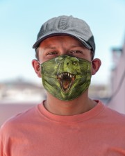 Dinosaur Face T826 Cloth face mask aos-face-mask-lifestyle-06