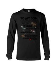 Family - To My Son T-rex Long Sleeve Tee thumbnail
