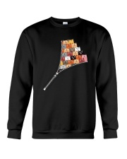 Cat Zip Crewneck Sweatshirt thumbnail
