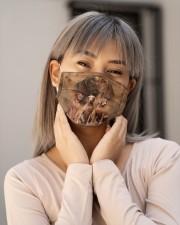 Awesome Vizsla G82755 Cloth face mask aos-face-mask-lifestyle-17