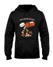 English Cocker Spaniel Anti Hooded Sweatshirt thumbnail