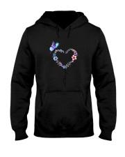 Butterfly - I love you Hooded Sweatshirt thumbnail