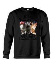 Cat Relax Crewneck Sweatshirt thumbnail