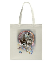 Wolf Dreamcatcher Tote Bag thumbnail