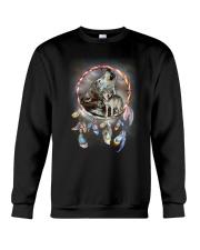 Wolf Dreamcatcher Crewneck Sweatshirt thumbnail