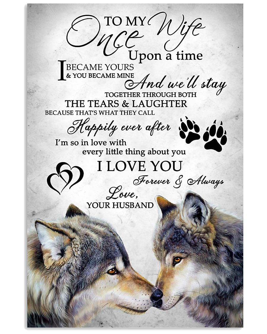 Wolf To My Wife 11x17 Poster
