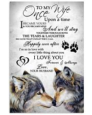 Wolf To My Wife 11x17 Poster front