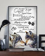 Wolf To My Wife 11x17 Poster lifestyle-poster-2