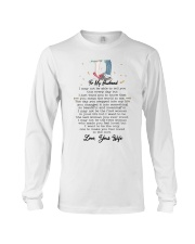 Family To My Husband You Are My World Long Sleeve Tee thumbnail