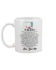 Family To My Husband You Are My World Mug back