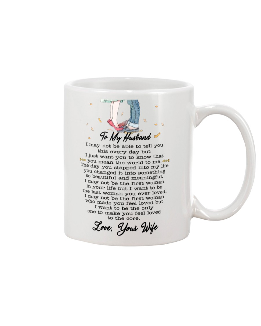 Family To My Husband You Are My World Mug