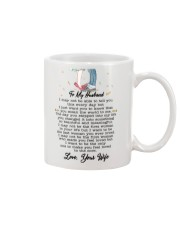 Family To My Husband You Are My World Mug front