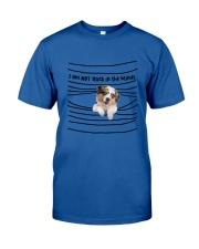 Australian Shepherd In The Blinds  Classic T-Shirt thumbnail