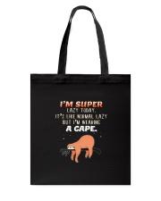 Sloth Super Tote Bag thumbnail