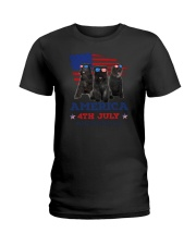 Bouvier des Flandres America Ladies T-Shirt tile