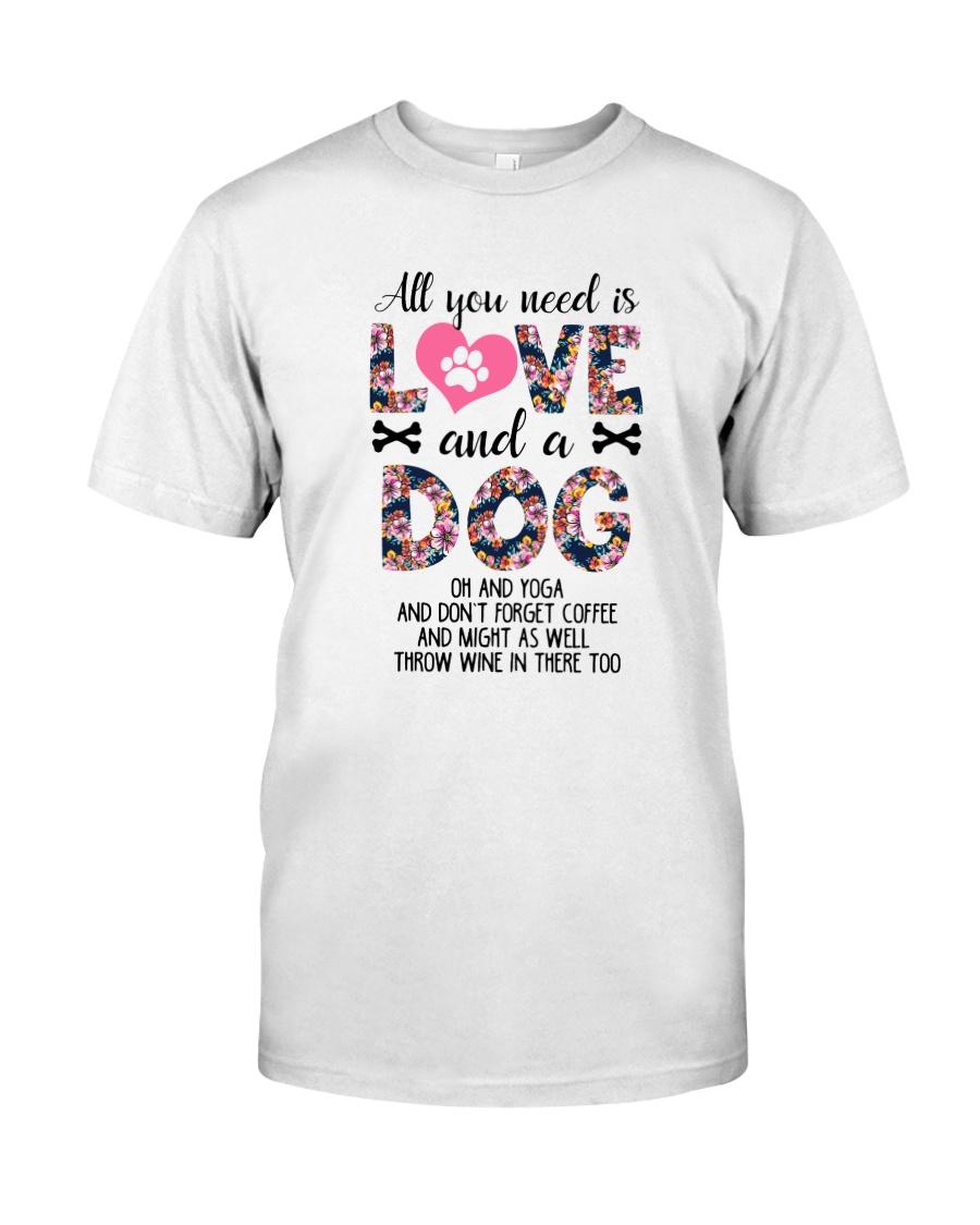 Dog - All Love Classic T-Shirt